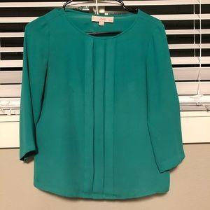 Loft sea green blouse
